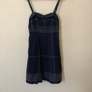 Anthropologie Maeve Nautical Pin Up Dress 8